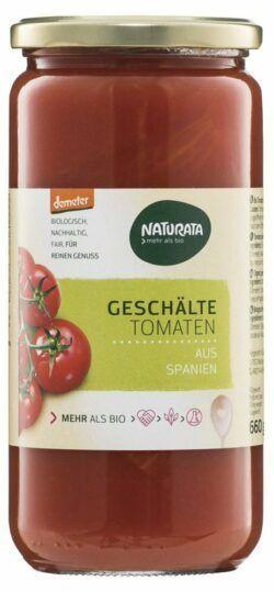 NATURATA Geschälte Tomaten in Tomatensaft 6x660g