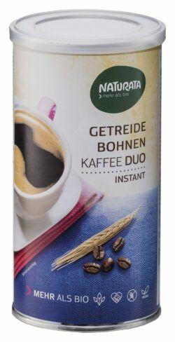 NATURATA Getreide-Bohnenkaffee Duo, instant 6x100g