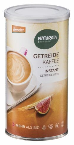NATURATA Getreidekaffee, instant, Dose 6x100g