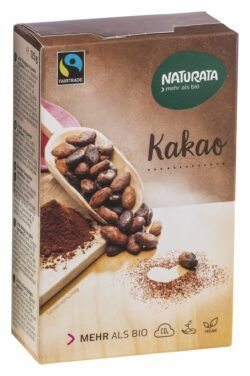 NATURATA Kakao, alkalisiert 10x125g
