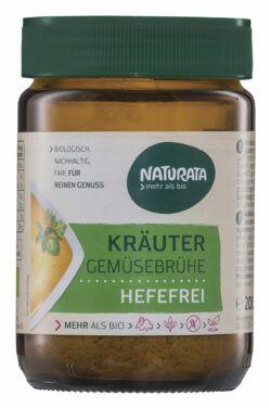 NATURATA Kräuter Gemüsebrühe hefefrei 6x200g