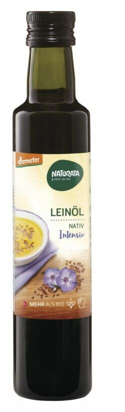 NATURATA Leinöl nativ 4 x 250ml
