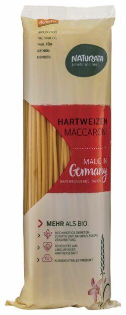 NATURATA Maccaroni lang, Hartweizen hell 10x500g