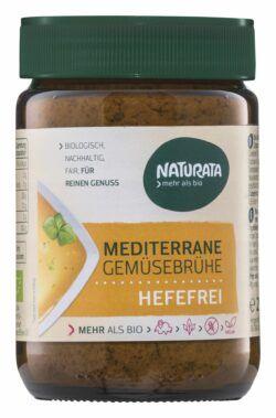 NATURATA Mediterrane Gemüsebrühe hefefrei 6x200g
