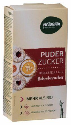NATURATA Puderzucker aus Rohrohrzucker 10x200g