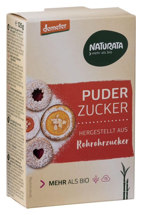 NATURATA Puderzucker aus Rohrohrzucker 125g