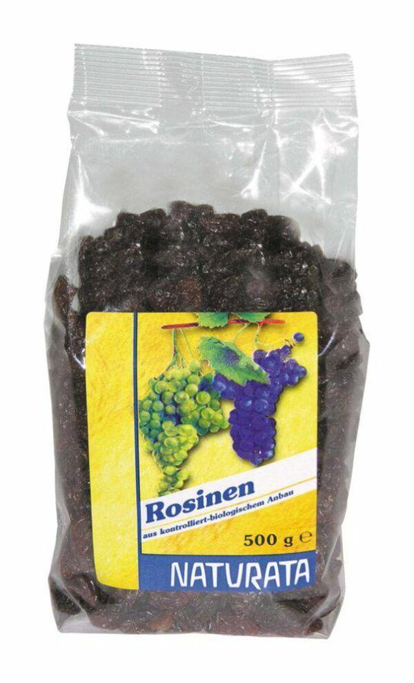 NATURATA Rosinen, getrocknet 5x500g