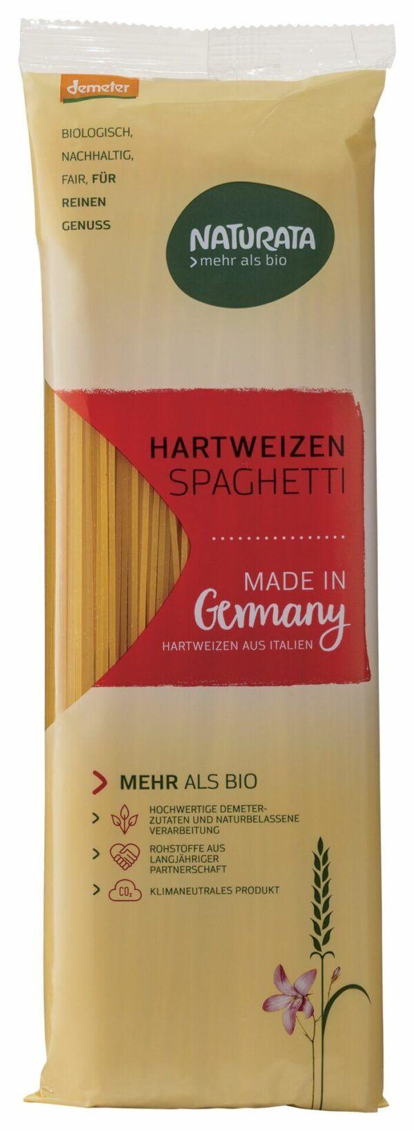 NATURATA Spaghetti, Hartweizen hell 10x500g
