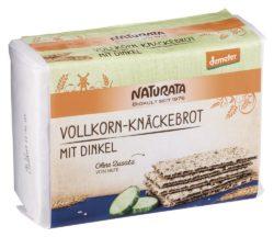 NATURATA Vollkorn-Knäckebrot mit Dinkel 250g
