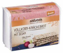 NATURATA Vollkorn-Knäckebrot mit Sesam 250g