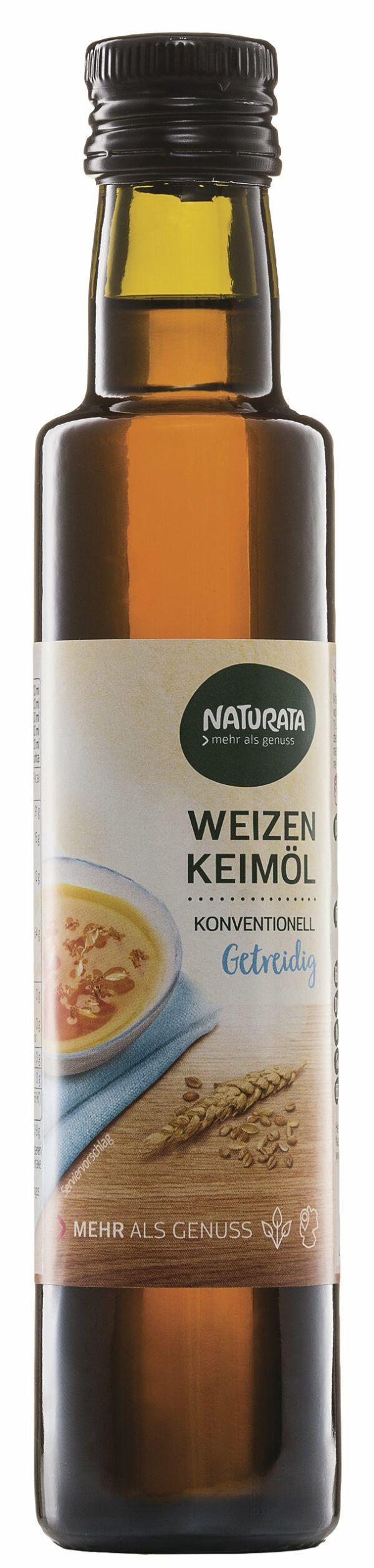 NATURATA Weizenkeimöl 4x250ml