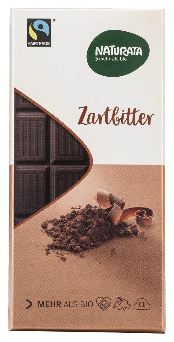 NATURATA Zartbitter Schokolade 12x100g