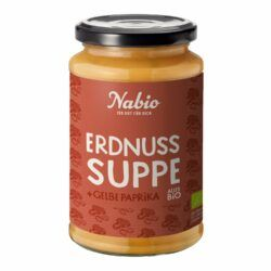 Nabio Erdnuss Suppe 6x375ml