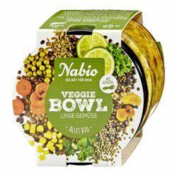 Nabio Veggie Bowl Linse Gemüse 5x235g