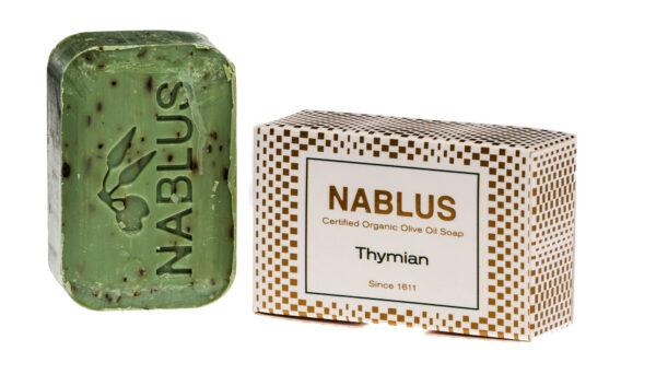 Nablus Soap Olivenölseifen Nablus Soap Natürliche Olivenseife Thymian 100g