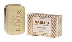 Nablus Soap Olivenölseifen Nablus Soap Haarseife Sandelholzöl & Sheabutter 100g