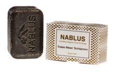 Nablus Soap Olivenölseifen Nablus Soap Natürliche Olivenseife Totes Meer Schlamm 100g