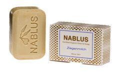 Nablus Soap Olivenölseifen Nablus Soap Natürliche Olivenseife Ziegenmilch 100g