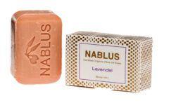 Nablus Soap Olivenölseifen Nablus Soap Natürliche Olivenseife Lavendel 100g