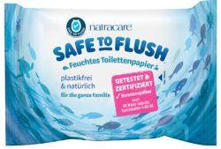Natracare Feuchtes Toilettenpapier - Safe to Flush 30 St 16x30Stück