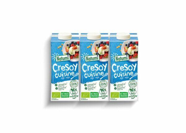 Natumi CreSoy Cuisine 3er Pack 5x600ml