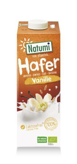 Natumi Hafer Vanille 1l