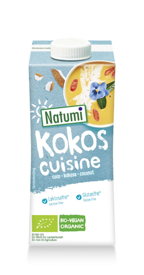 Natumi Kokos Cuisine zum Kochen und Backen 15x200ml