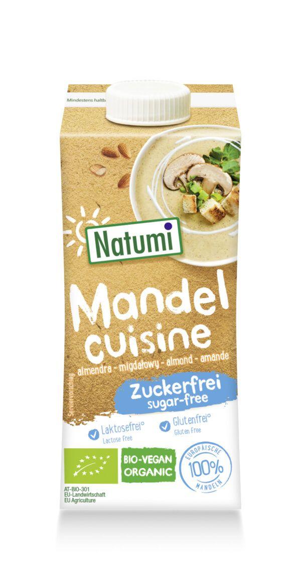 Natumi Mandel Cuisine zum Kochen und Backen 200ml