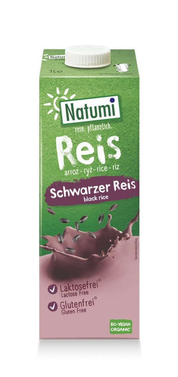 Natumi Schwarzer Reis Drink 6x1l