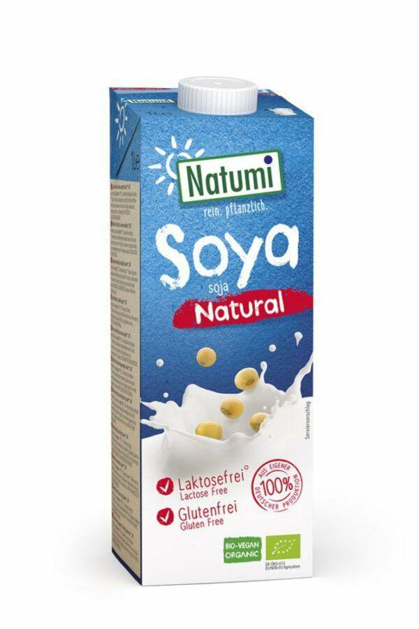 Natumi Soya natural 12x1l