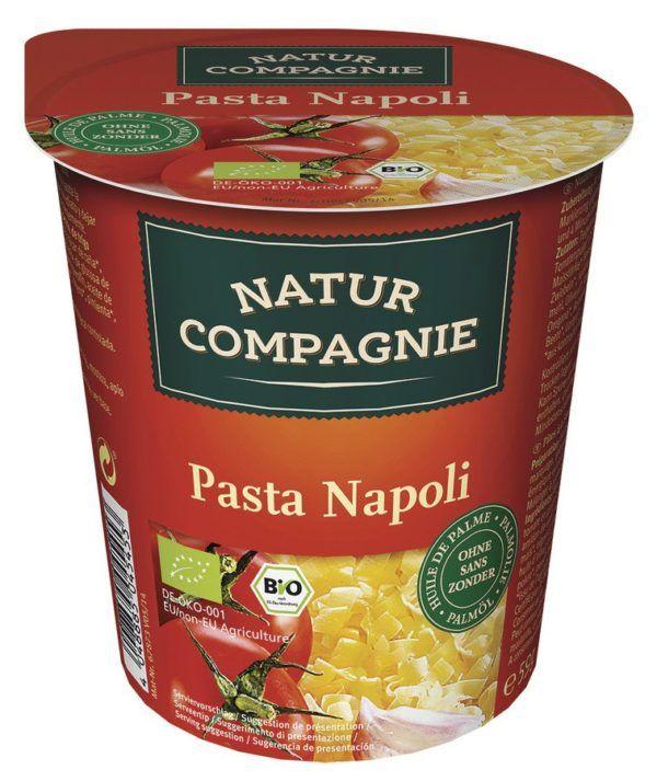 Natur Compagnie Snack Cup Pasta Napoli 8x59g