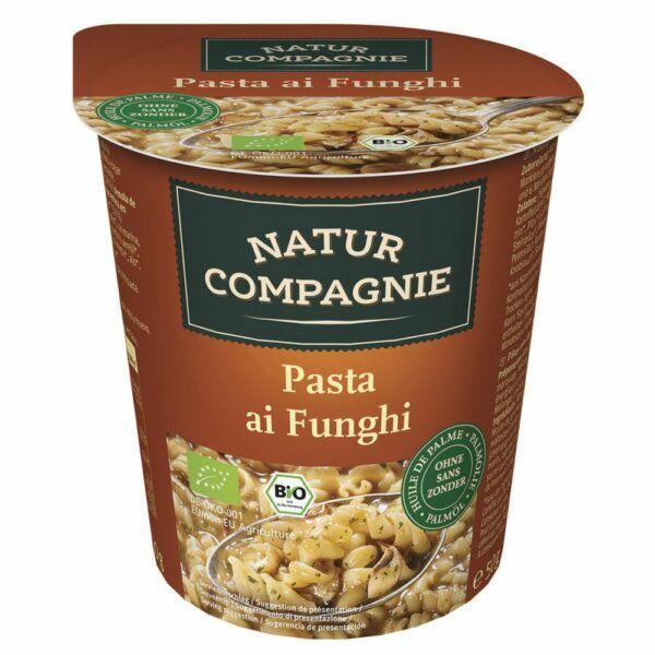Natur Compagnie Snack Cup Pasta ai Funghi 8x50g
