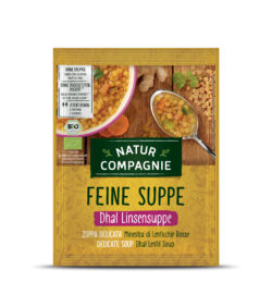 Natur Compagnie Dhal Linsensuppe 12x60g