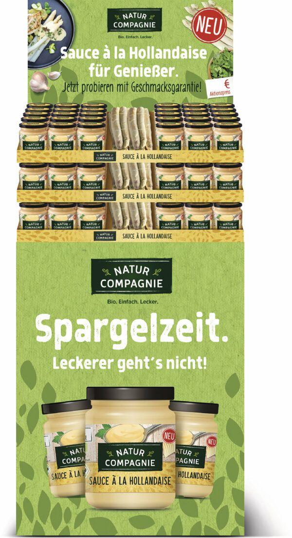 Natur Compagnie Display Sauce à la Hollandaise, für 90 Gläser 1Stück