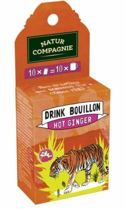 Natur Compagnie Drink Bouillon Hot Ginger 6x45g