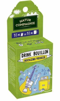 Natur Compagnie Drink Bouillon Rocking Veggie 6x45g