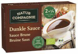 Natur Compagnie Dunkle Sauce feinkörnig 12x42g