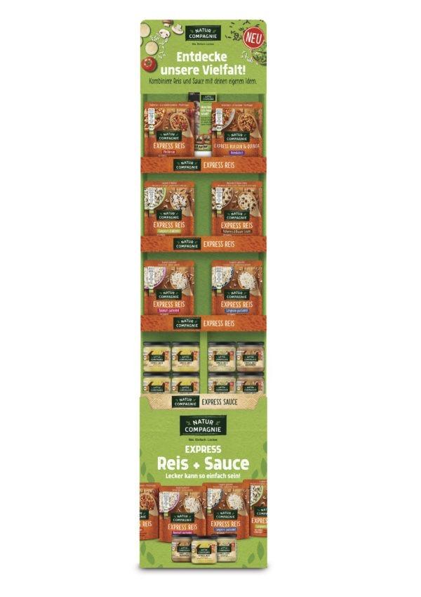 Natur Compagnie Einführungsdisplay Express Reis & Saucen 1Stück