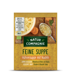 Natur Compagnie Hühnersuppe mit Nudeln 12x40g