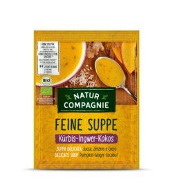 Natur Compagnie Kürbis-Ingwer-Kokos Suppe 12x40g