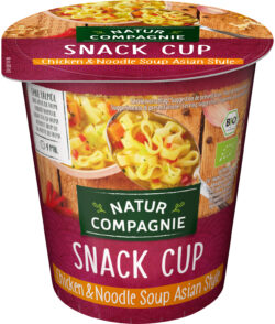 Natur Compagnie Snack Cup Chicken & Noodle Soup Asian Style 8x55g