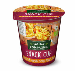 Natur Compagnie Snack Cup Chicken & Noodle Soup Asian Style 8x255ml