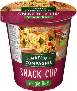 Natur Compagnie Snack Cup Veggie Rice bio 8x70g