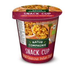 Natur Compagnie Snack Cup Dhal-Couscous Indian Style 8x68g
