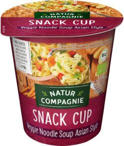 Natur Compagnie Snack Cup Veggie Noodle Soup Asian Style 8 x 255ml
