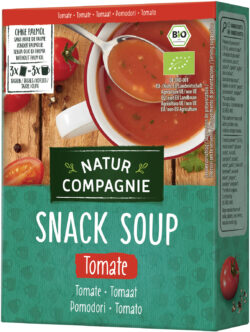 Natur Compagnie Snack Soup Tomate 12x60g