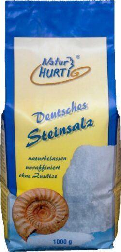Natur Hurtig Deutsches Steinsalz, fein 5x1kg