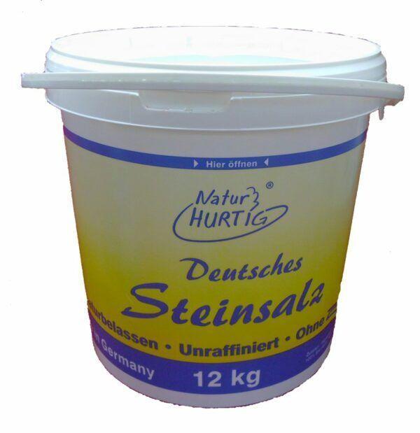 Natur Hurtig Deutsches Steinsalz, fein; Speise-Steinsalz 12kg