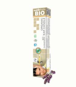 Naturhelix 100% BIO Ohrkerzen mit Lavenderöl 2er Packung 2Stück