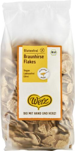 Naturkornmühle Werz Braunhirse Flakes, glutenfrei 5x250g
